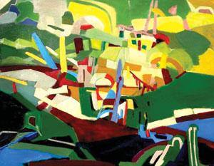 'John's Porch,'Julie Young