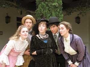 """In 2013 the Circle Bar B Dinner Theatre presented Oscar Wilde's """"The Importance of Being Earnest."""" Circle Bar B Theatre photo"""