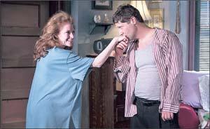 Dee Ann Newkirk as Frankie and Rick Gifford as Johnny. PHOTOS COURTESY DAVID BAZEMORE