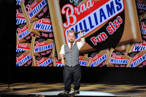 """I had such a great time in Santa Barbara and it did so much for me personally,"" says Brad Williams, a comedian who will return for the second year of the LOL Comedy Festival. Courtesy photo"