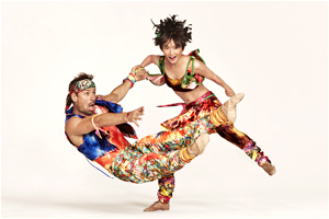 "Two Twyla Tharp veterans, Matthew Dibble and Rika Okamoto, perform in ""Yowsie."" Ruven Afanador photo"
