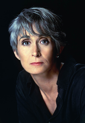 American dancer, choreographer and author Twyla Tharp lives and works in New York City. In 1966 she formed her own company, Twyla Tharp Dance. Her work often utilizes classical music, jazz and contemporary pop music. UCSB Arts & Lectures photo