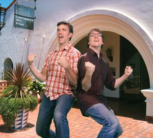 JEFF & GORDON PHOTO