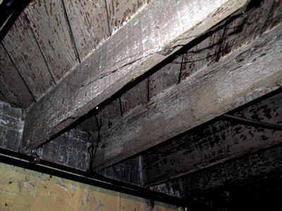 Photo of a basement