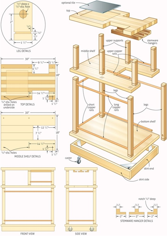 detailed woodworking plans blueprints