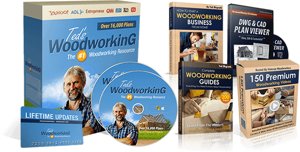 TedsWoodworking Complete Package