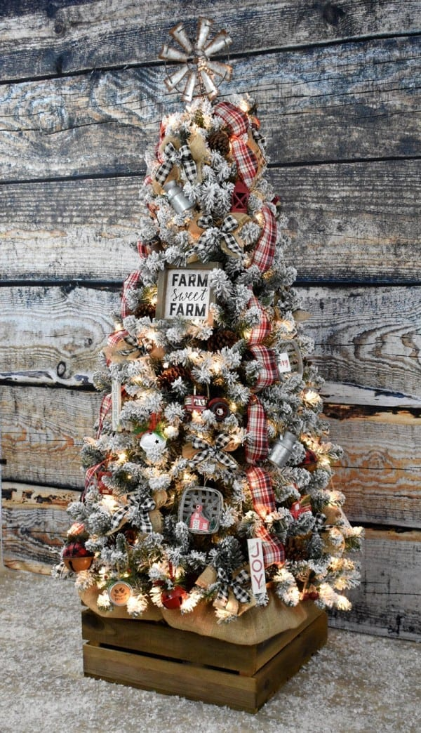 DIY Bed Spring Windmill Christmas Tree Topper - Vintage ...