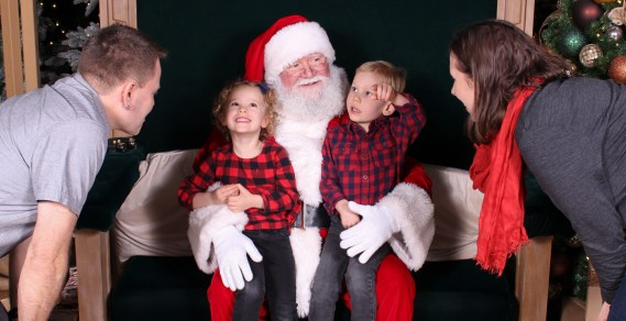 Christmas 2019 Santa Photos
