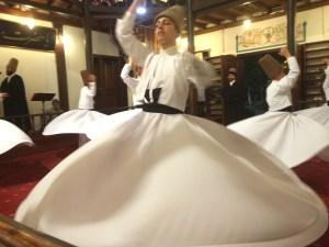 Whirling Dervish. Bursa, Turkey