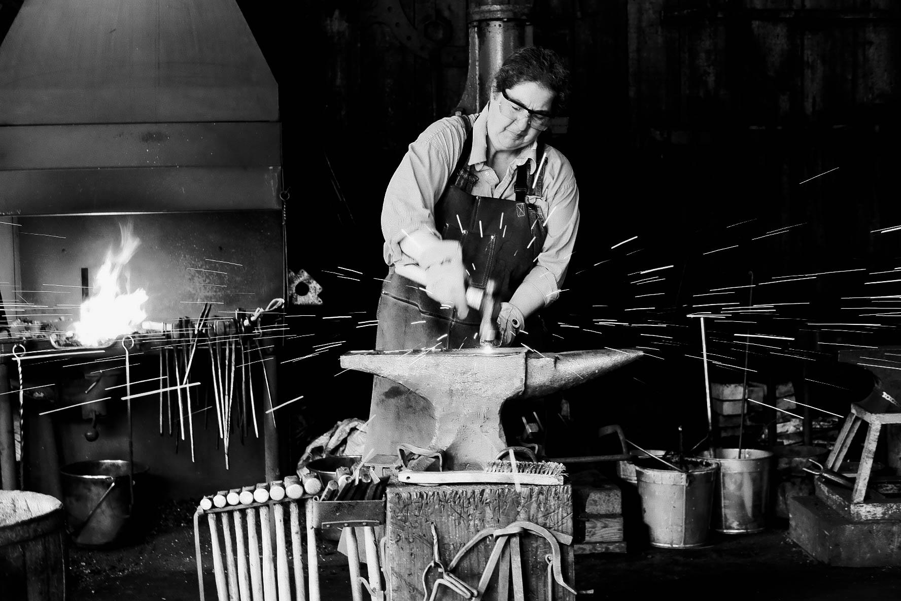 blacksmith, metal work, history, horseshoes