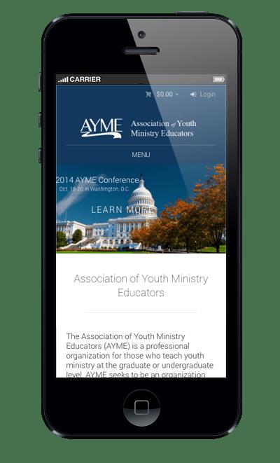 ayme-website-phone