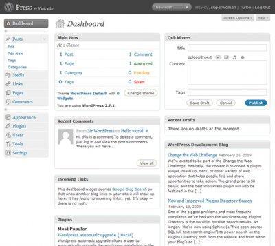 wordpress-admin-blog