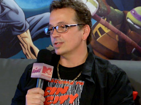 Kevin Eastman @ Comic Con 2012