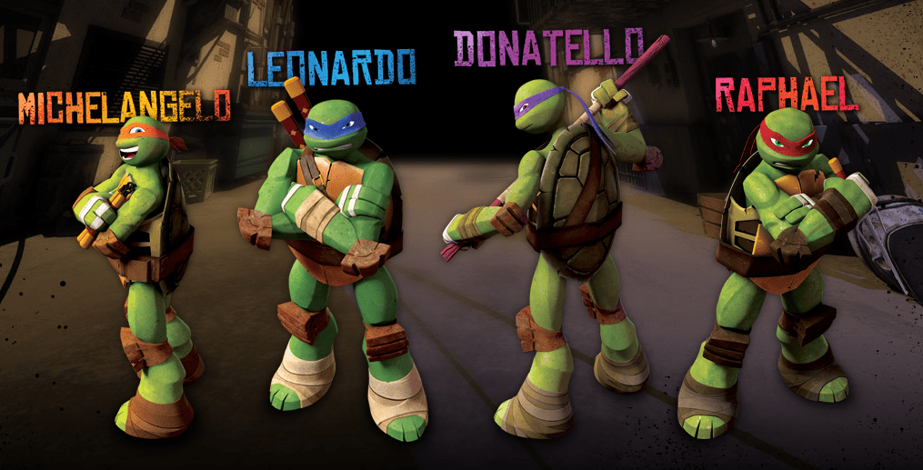 Tmnt Expanding Content On Nick S Tmnt Site