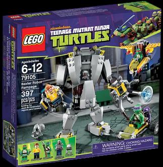 Lego Baxter Robot Rampage, TMNT