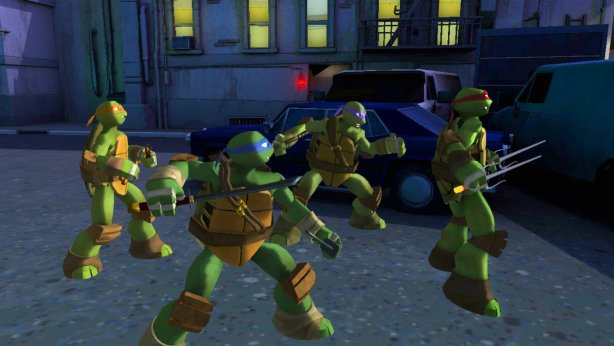 Teenage Mutant Ninja Turtles Game 1