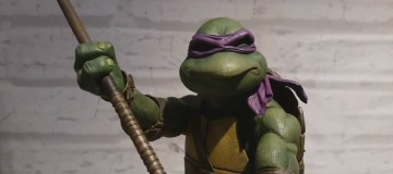 NECA 90's TMNT figures of Donatello