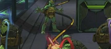 Image from Mutants in Manhattan gameplay video featuring Michelangelo. Source: Platinum Games, Activision