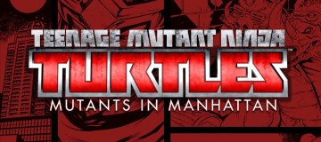 Logo for Teenage Mutant Ninja Turtles: Mutants in Manhattan review. Source: Activision, Platinum Games