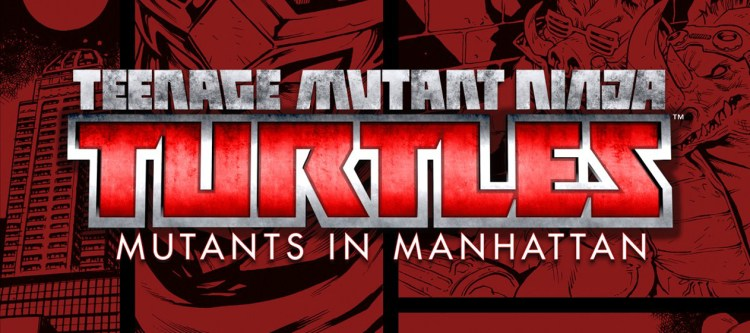 Logo for Teenage Mutant Ninja Turtles: Mutants in Manhattan review. Source: Activision, Platinum Games