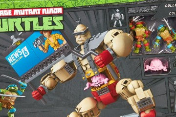 Box Art for the Krang's Rampage TMNT Mega Bloks set. Source: Mega Bloks