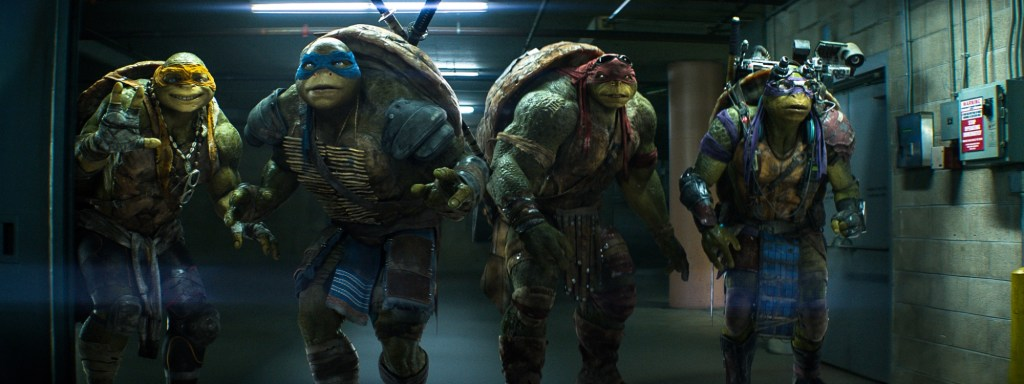 The latest TMNT movie series isn't very dark, and some fans aren't happy with that. Image Source: Paramount Pictures