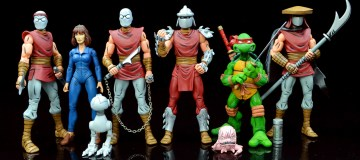 Just a few of the NECA TMNT figures featured in these Turtley Awesome Videos. Image Source: NECA.