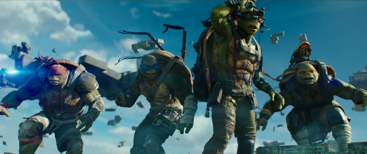 It may not be the most popular TMNT movie, but fans will be happy to see that Out of the Shadows will soon be available on a streaming service. Image Source: Paramount Pictures.
