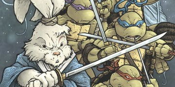 Stan Sakai has finally brought the turtles back to his Usagi Yojimbo universe. Image Source: Enterainment Weekly, IDW.