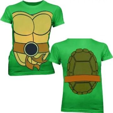 Ninja Turtles Michelangelo Body Juniors T-shirt