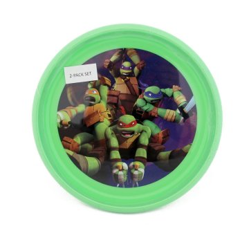 Nickelodeon Ninja Turtles 2 Pack Plates