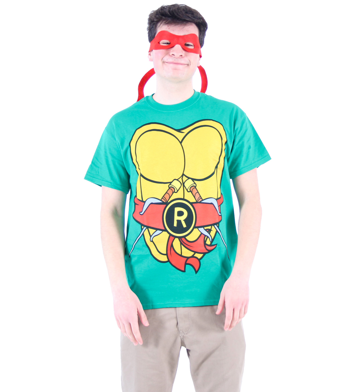 e18efc33 Ninja Turtles Adult Costume T-shirt