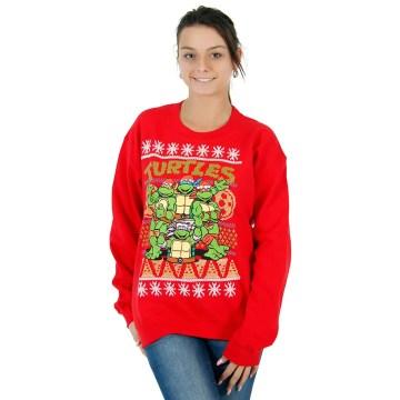 Ninja Turtles Sewer Red Ugly Christmas Sweatshirt
