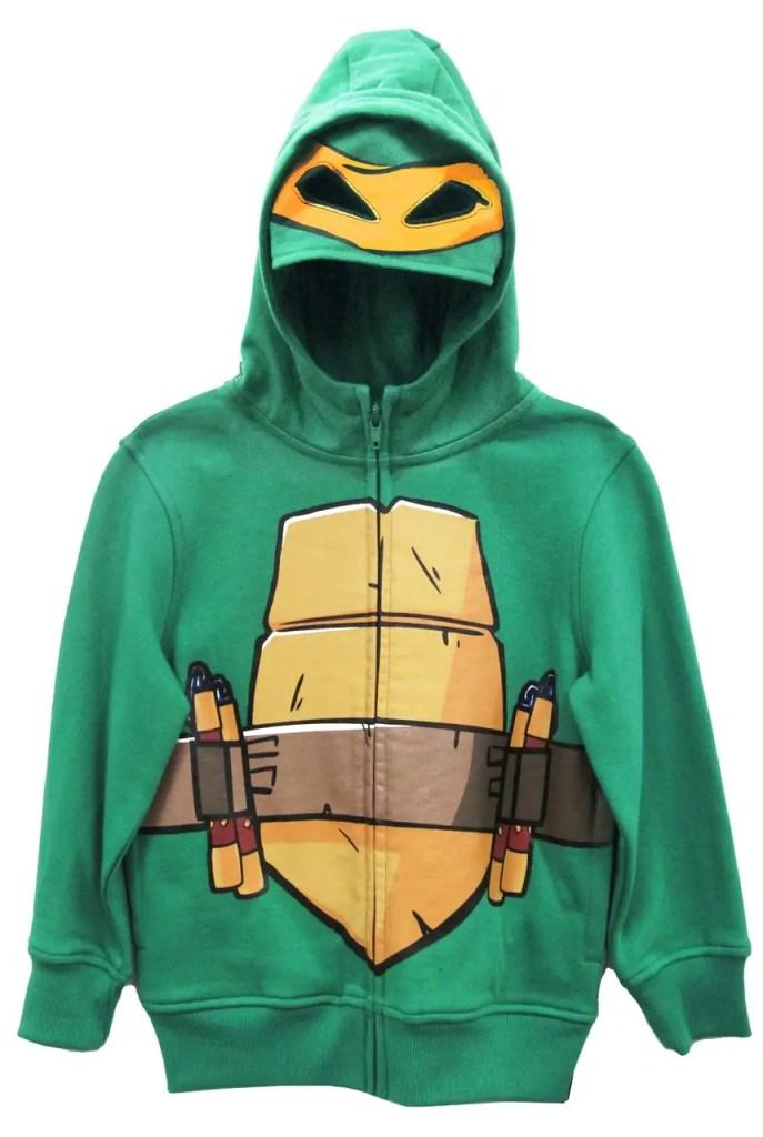 ninja turtles michelangelo costume toddler sweatshirt