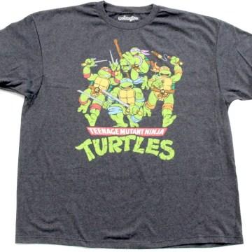 Ninja Turtles Classic Black T-Shirt