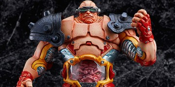 Goodsmile may have outdone themselves with Krang, the last TMNT villain in their James Jean inspired series of collectible figures. Image Source: Goodsmile.