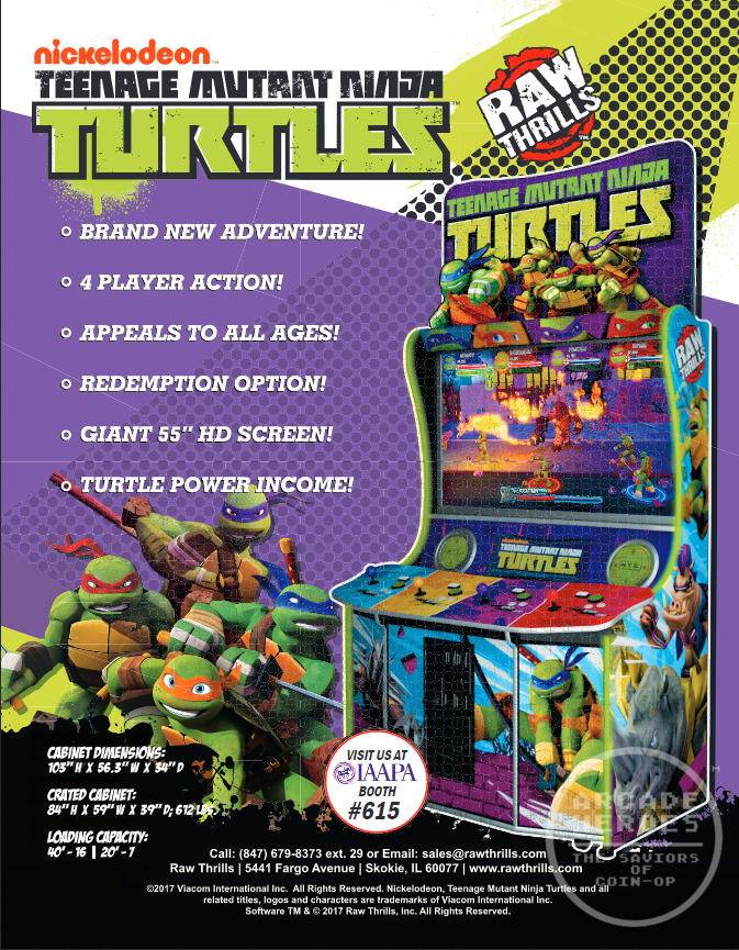 New Teenage Mutant Ninja Turtles Arcade Game Coming Soon