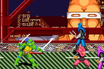 This is just one of the images that might flash through your mind as you're watching the turtley awesome videos in this post! Image Source: Konami.