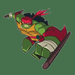 Raph looks ready to lead in Rise of the Teenage Mutant Ninja Turtles. Image Source: Nickelodeon.