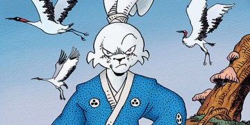 Artwork from issue #163 of Usagi Yojimbo. Image Source: Bleeding Cool, Dark Horse Comics.