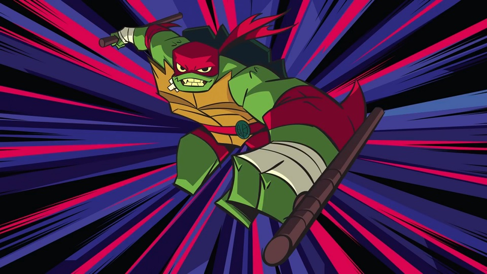 Raphael is the new leader of this group, and he's looking pretty good! Image Source: Nickelodeon.