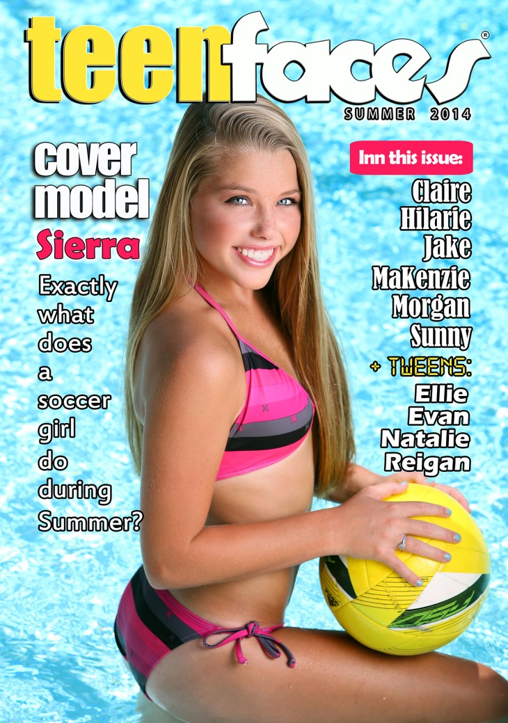 TeenFaces Magazine Summer Issue Launches This Week