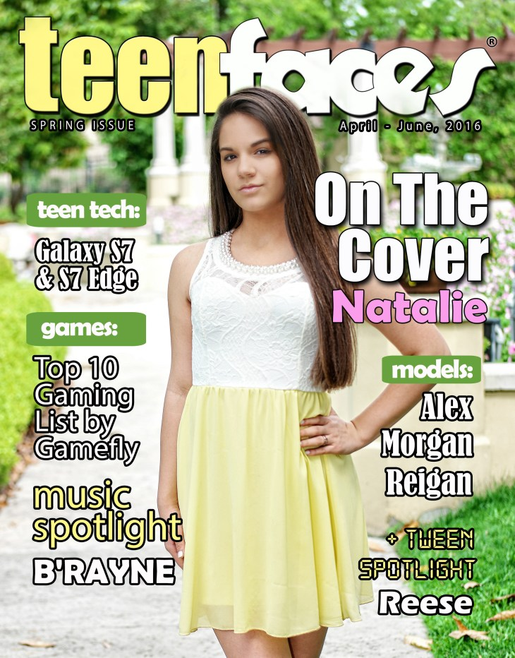 TeenFaces Magazine Spring 2016