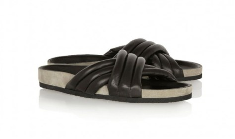 Isabel Marant - Holen Leather Sandal