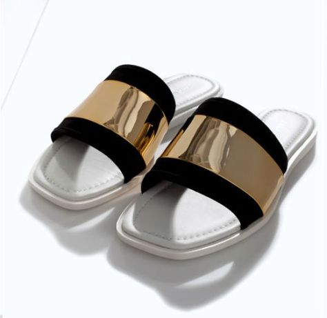 Zara - Leather Sandals