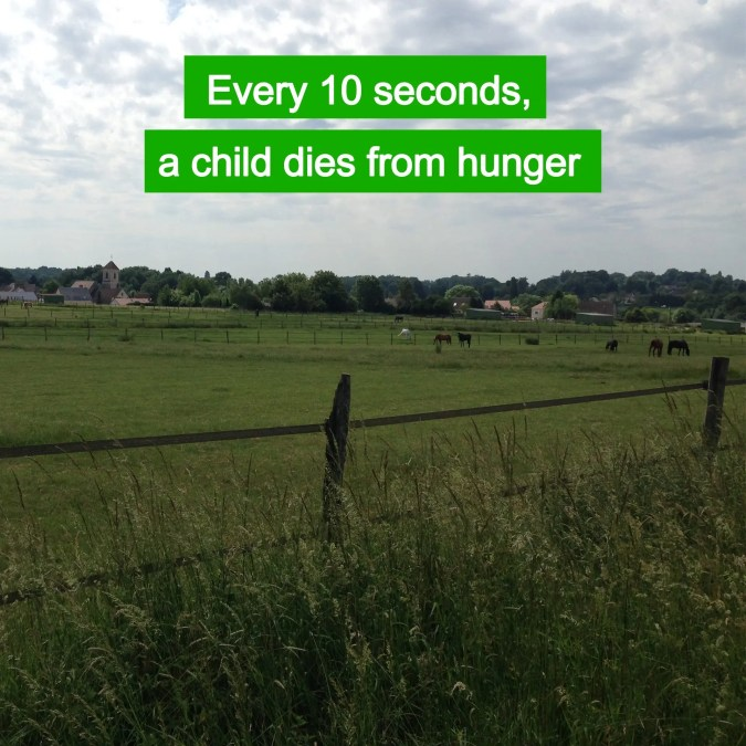 Hunger : a leading cause of death for children