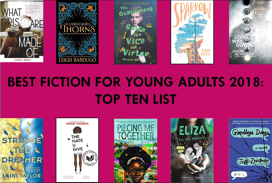 Top novels for young adults