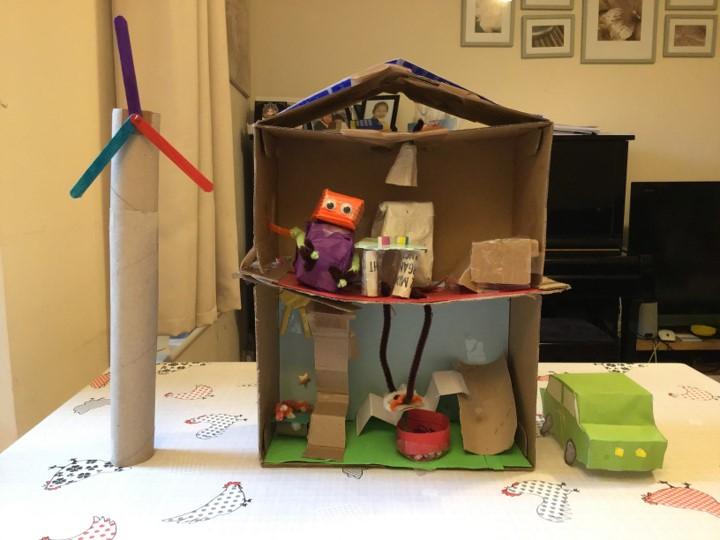 Buildings from our TeenTech City of Tomorrow at Home – Week 3