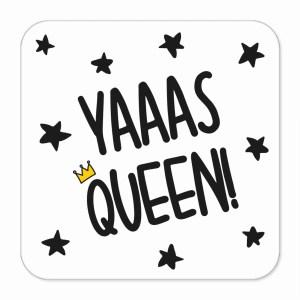 Graduation Gift Funny Pun Coaster Present Diva Yas Queen Yaaas TePe Creations Birthday Congratulations Girl LGBT Pride RuPauls Drag Race Positive Affirmation Friend Princess