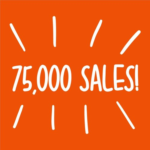 75000 sales